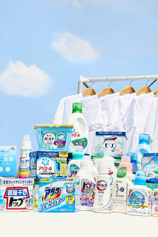 小特集 「洗濯洗剤30製品テスト」